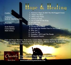 Hope & Healing Credits web